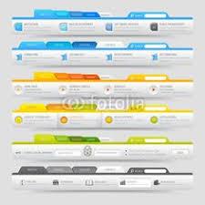 vector vertical header web menu design vertical menu pinterest