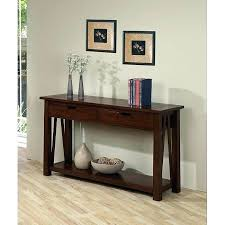 hallway table with storage console table with drawers and shelves hall table with drawers