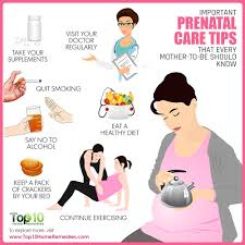 cartoon no alcohol important prenatal care tips that every mother to be should know