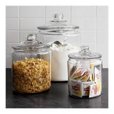 glass canisters for kitchen ncaa 16 oz lsu tigers glass jar with lid and handle 2pk multicolor