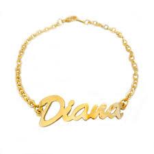 Personalized Name Bracelet Olivia Bridesmaids Gift Wedding Jewellery Gold Letter Bracelet