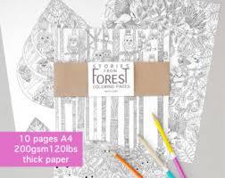 ferret coloring book etsy