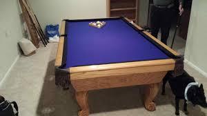 purple felt pool table colorado rockies pool table cloth