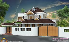 Kerala Home Design Contact by House Compound Wall Design Kerala House Design Front Porch Designs