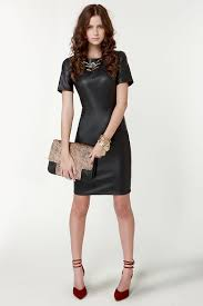 leather dress black dress vegan leather dress sleeve dress 68 00