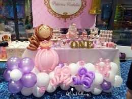 interior design cool princess themed balloon decorations