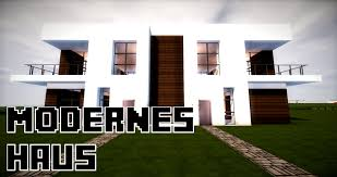 Doppelhaus Minecraft Modernes Doppelhaus Bauen 25x12 Tutorial Anleitung 28