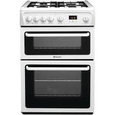 Currys Small Kitchen Appliances Hotpoint Newstyle Hag60p Cooker White Hotpoint Uk
