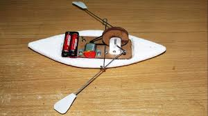 how to make a simple functioning toy row boat adafruit