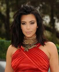 kim kardashian short haircut kim kardashian bobs and wavy shoulder