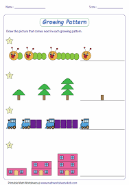 collection of solutions easy pattern worksheets for worksheet