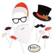 christmas photo booth props selfie christmas photo booth props kit