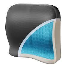amazon com wagan in9112 relax fusion lumbar memory foam and gel