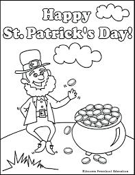 coloring pages st patricks day coloring page st patrick day