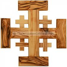 wood crosses olive wood jerusalem cross from the holy land holy land christian
