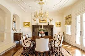 dining room molding ideas ideas dining room traditional with black patterned rug arch entryway