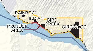 Girdwood Alaska Map by Seward Highway 100 To 105