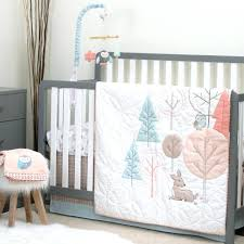 Brown And Pink Crib Bedding Pink Brown Crib Bedding