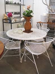 Outdoor Furniture Iron by 52 Best Vintage Mid Century Patio Furniture Images On Pinterest