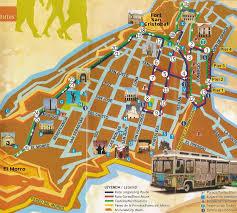 san juan map trolley map tour san juan