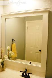 Framed Bathroom Mirrors by Best 25 Diy Framed Mirrors Ideas On Pinterest Framed Mirrors