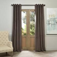 grommet curtains u0026 drapes window treatments the home depot