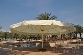 7 meter round deluxe big garden sun umbrella parasol patio cover