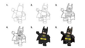 how to draw batman coloring pages the lego batman movie