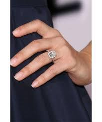 prettiest celebrity engagement rings dujour