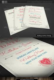 awesome psd u0026 indesign wedding invitation card templates