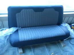 bench seat upholstary this is how it turned out ford truck
