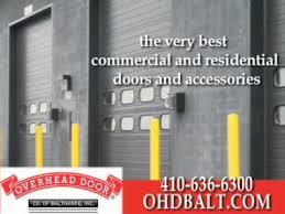 Overhead Doors Baltimore Overhead Door Co Of Baltimore Inc Baltimore Md