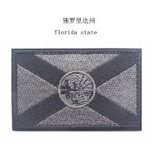Floridas State Flag Embroidered Usa Florida State Flag Patches Army Badge Patch