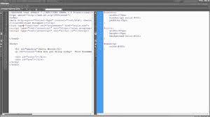 split layout js dreamweaver tutorial use split view more effectively html css