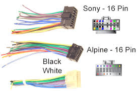sony car stereo wiring diagram kwikpik me