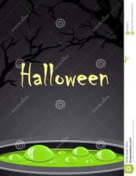 halloween background green halloween background with green potion and place for text