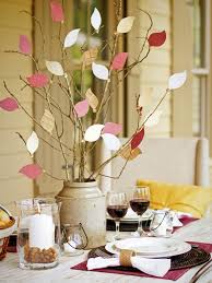 thanksgiving decorating ideas for kids with bird pattern table