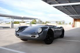 porsche nardo grey you won u0027t care that this porsche 550 spyder outlaw is a replica