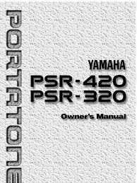 yamaha psr 420 english manual synthesizer ac power plugs and