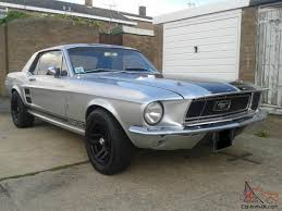1967 Ford Mustang Black Ford Mustang 1967