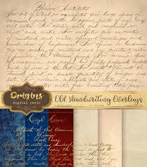 writing paper texture old handwriting overlays digital vintage letters png overlay this is a digital file