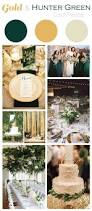 Winter Color Schemes by Gold And Hunter Green Wedding Color Palette Aka A Baylor