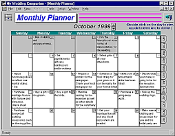 wedding planning software my wedding companion wedding planner software to
