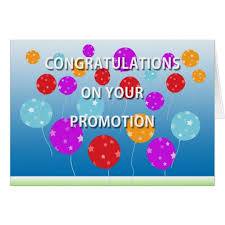 congratulations promotion card congratulations on your promotion card zazzle