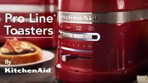 Red Kitchenaid Toasters Kitchenaid Pro Line Series Toasters Youtube