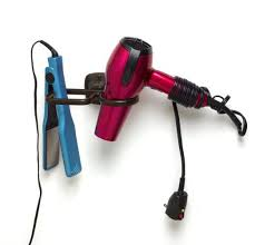 Hair Dryer And Flat Iron Holder Wall Mount 16 best hair straightener flat iron holder images on