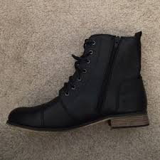 womens boots rubi shoes 44 rubi shoes black tie or zip up optional boots brand
