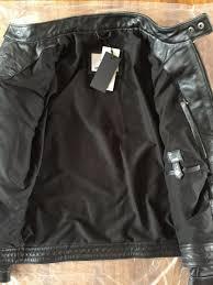 winter biker jacket new men vintage leather motorcycle jacket genuine cowskin black