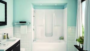 shower one piece tub shower units tranquil replace tub with