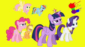 my little pony friendship is magic mane six determined